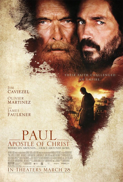 Trailer Paul, Apostle of Christ