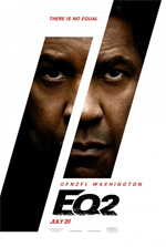Poster The Equalizer 2 - Senza Perdono  n. 1