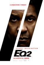 Poster The Equalizer 2 - Senza Perdono  n. 2