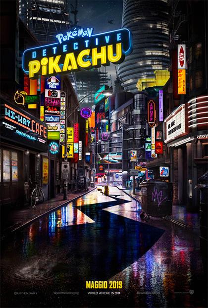 Poster Pokémon - Detective Pikachu