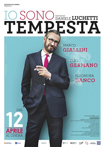 Locandina italiana Io sono Tempesta