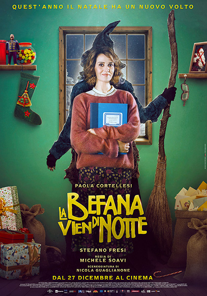 Image result for la befana vien di notte film
