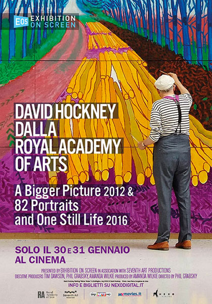 Trailer David Hockney dalla Royal Academy of Arts