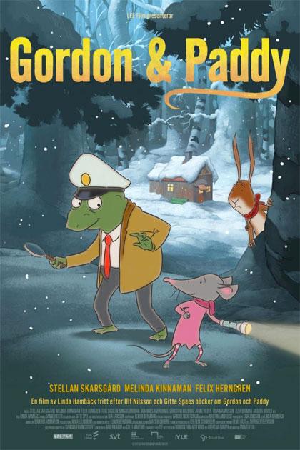 Poster Gordon & Paddy e il Mistero delle Nocciole