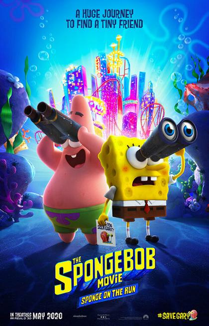 Trailer Spongebob - Amici in Fuga