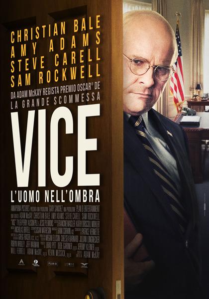 Locandina italiana Vice - L'Uomo nell'Ombra