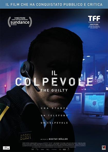 Locandina italiana Il colpevole - The Guilty