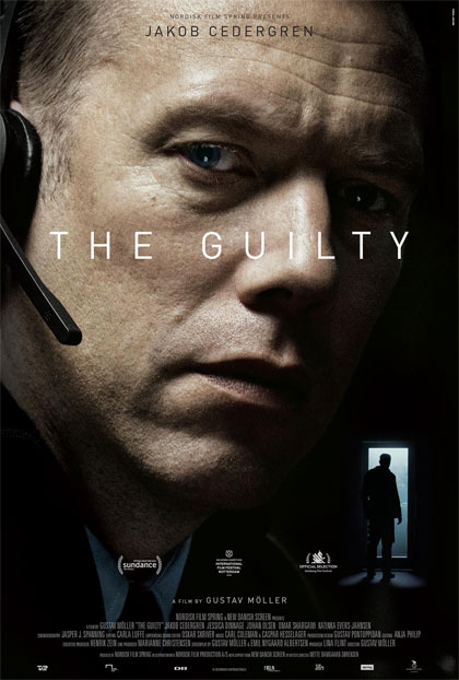 Poster Il colpevole - The Guilty