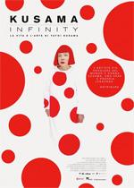 Poster Kusama - Infinity  n. 0