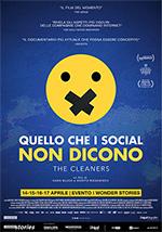 Poster Quello che i Social non Dicono - The Cleaners  n. 0