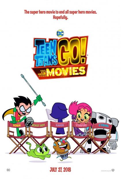 Poster Teen Titans Go! Il Film