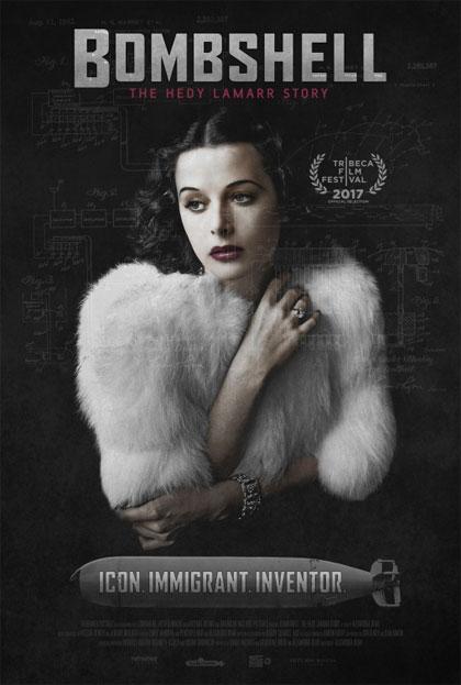 Locandina italiana Bombshell: The Hedy Lamarr Story