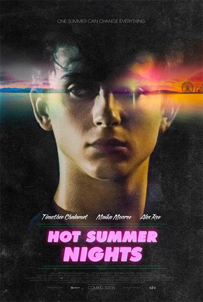 Locandina italiana Hot Summer Nights