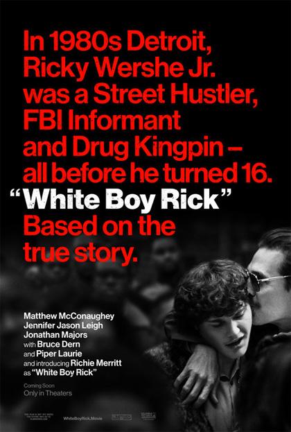 Poster Cocaine - La Vera Storia di White Boy Rick