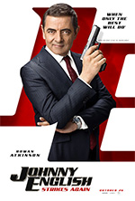 Poster Johnny English colpisce ancora  n. 2