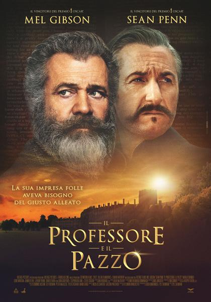 Locandina italiana Il Professore e il Pazzo