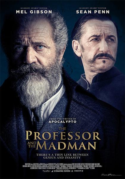 Poster Il Professore e il Pazzo