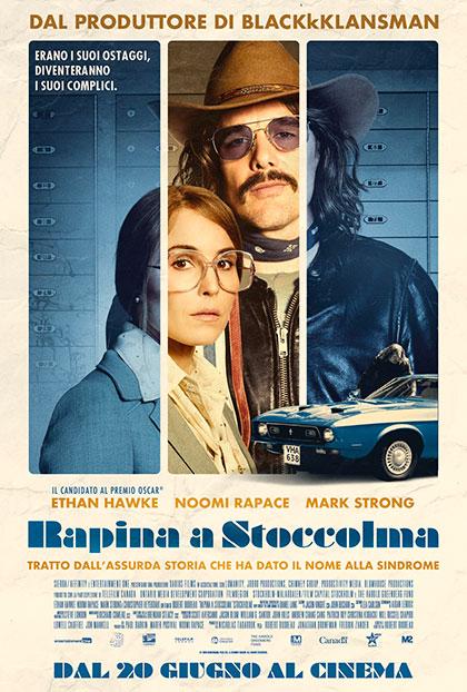 Trailer Rapina a Stoccolma