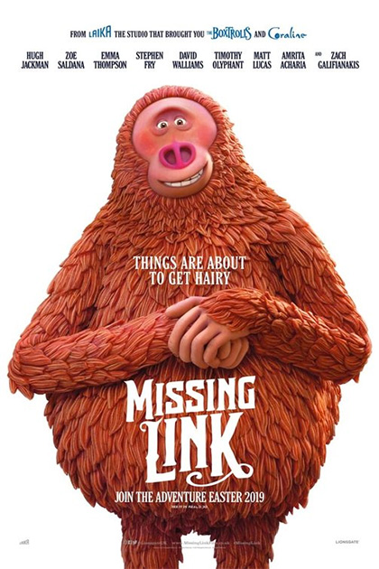 Risultati immagini per locandina missing link