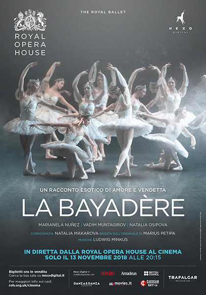 Trailer Royal Opera House: La Bayadére