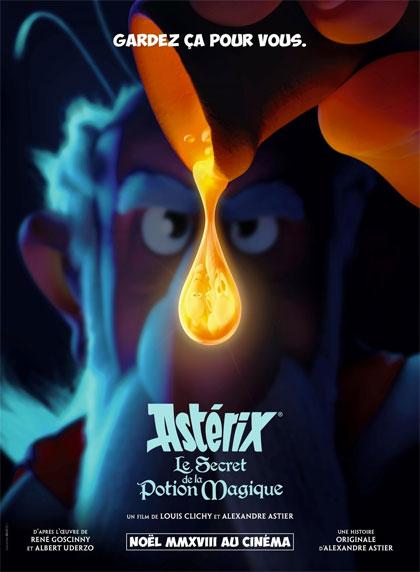 Poster Asterix e il Segreto della Pozione Magica