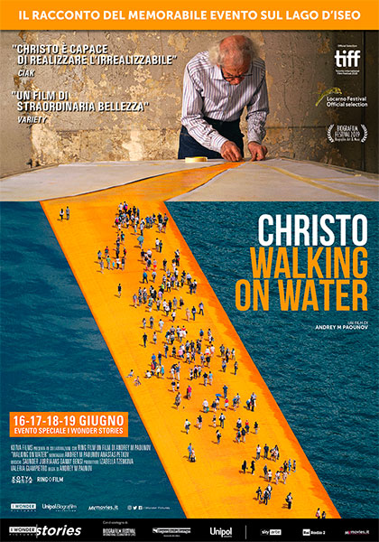 Risultati immagini per christo walking on water