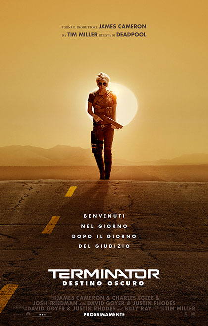 Trailer Terminator - Destino Oscuro