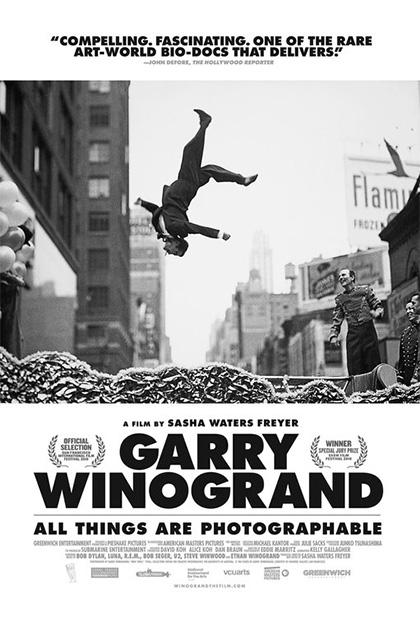Locandina italiana Garry Winogrand: All Things Are Photographable