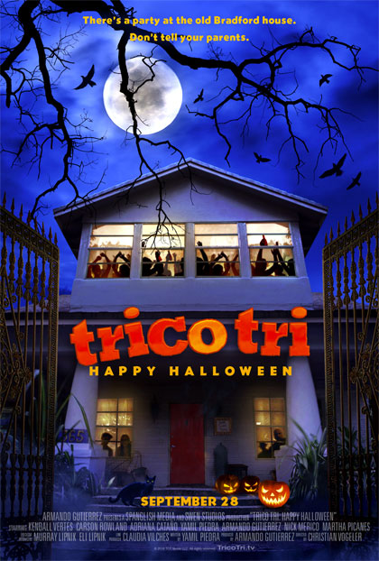 Trailer Trico Tri Happy Halloween