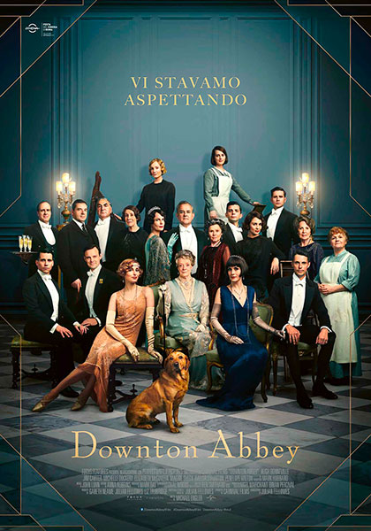 Locandina italiana Downton Abbey