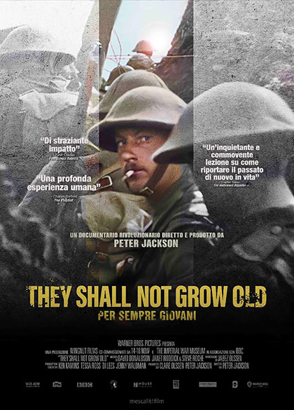 Trailer They Shall Not Grow Old - Per sempre giovani