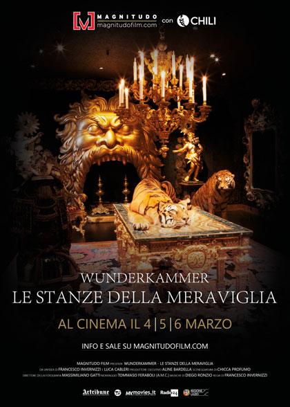 Locandina italiana Wunderkammer - Le Stanze della Meraviglia