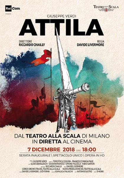 Piazzola Bologna Calendario 2020.Teatro Alla Scala Di Milano Attila 2018 Mymovies It