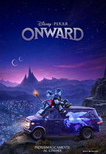 Poster Onward - Oltre la magia  n. 1