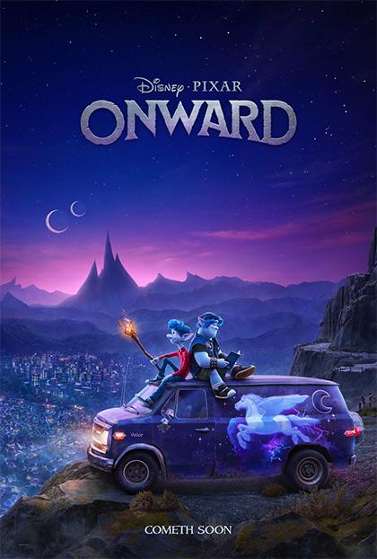 Poster Onward - Oltre la magia
