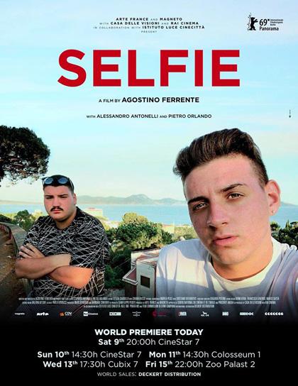 Locandina italiana Selfie