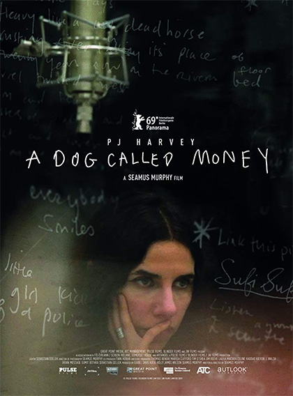 Locandina italiana PJ Harvey - A Dog Called Money