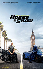 Poster Fast & Furious - Hobbs & Shaw  n. 1