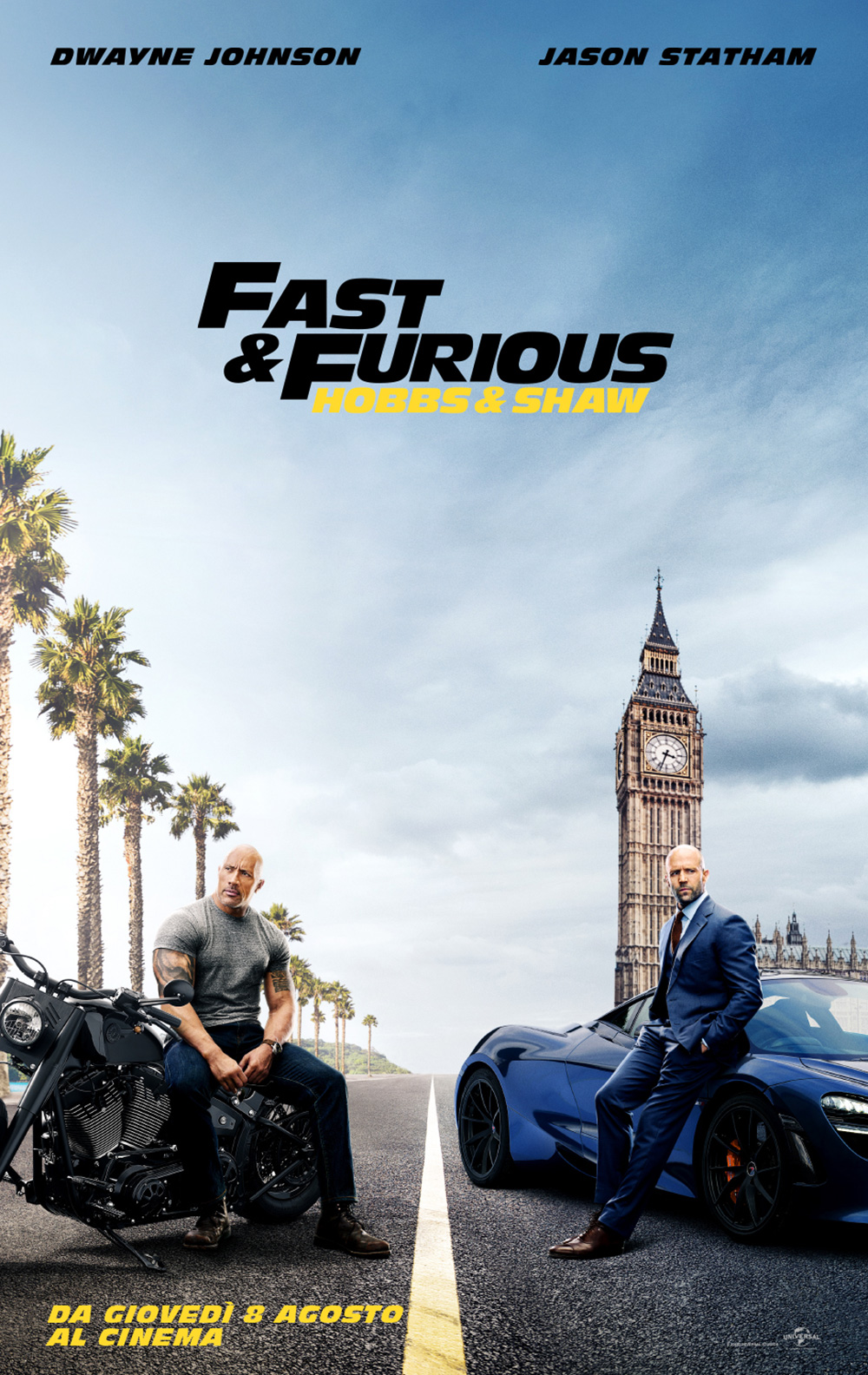 Poster Fast & Furious - Hobbs & Shaw