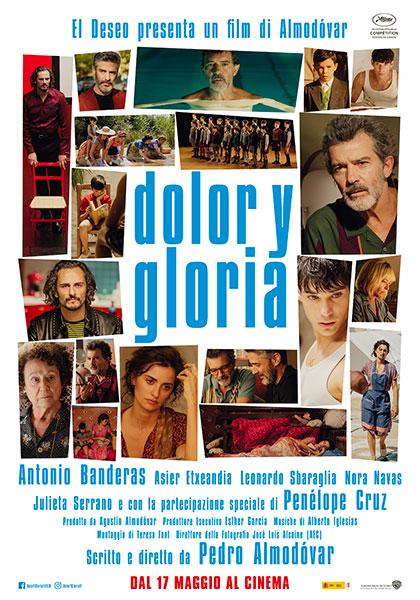Locandina italiana Dolor y Gloria