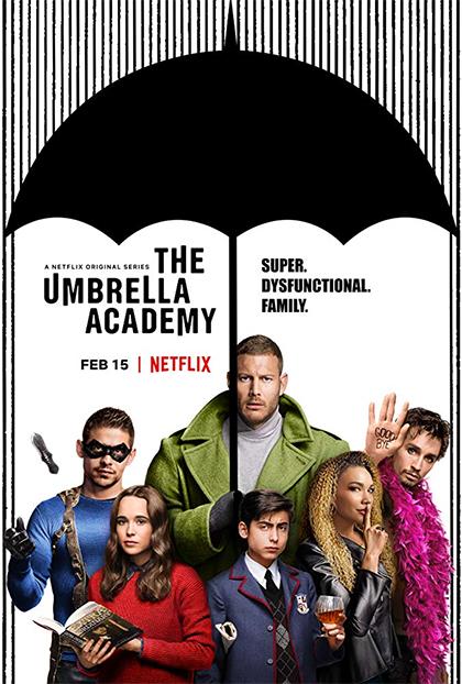 """locandina - Aspettando con ansia la seconda stagione di """"The Umbrella Academy"""""""