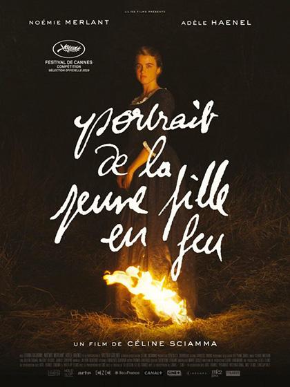 Poster Ritratto della giovane in fiamme