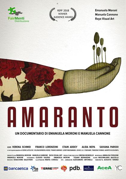 Locandina italiana Amaranto