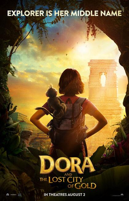 Poster Dora e la città perduta
