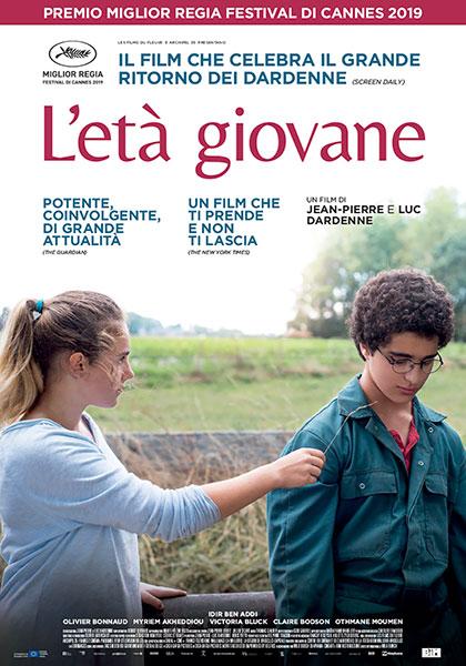 Locandina italiana L'Età Giovane