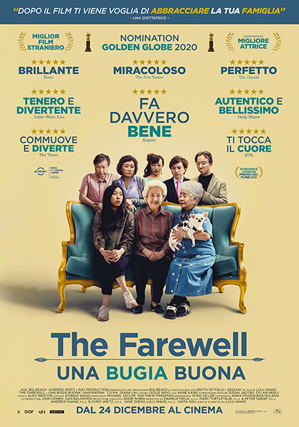 Trailer The Farewell - Una bugia buona