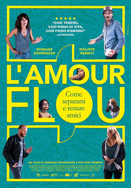 Locandina italiana L'amour flou - Come separarsi e restare amici