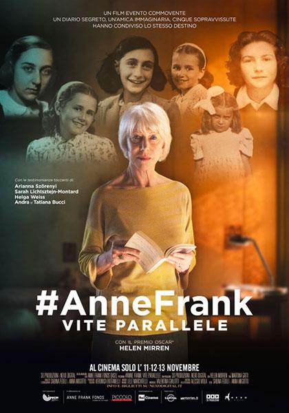 Trailer #AnneFrank. Vite Parallele
