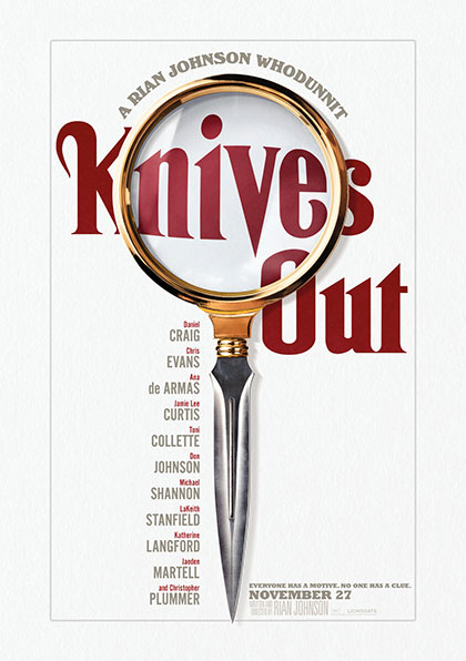 Poster Cena con delitto - Knives Out