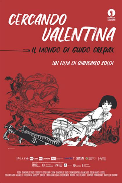 Trailer Cercando Valentina - Il mondo di Guido Crepax